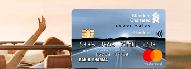 Standard Chartered Super Value Titanium Credit Card eligibility apply offers