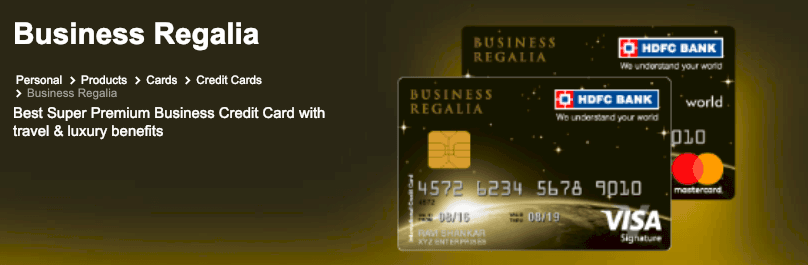 best credit card india